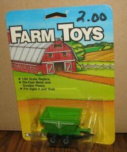 *Deutz Allis Grain Wagon Gravity Mixer 1/64 Ertl Farm Toys #603 John Deere 1986