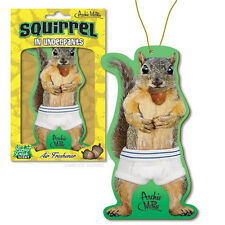 Squirrel In Underpants Deluxe Air Freshener - Novelty Fun Gag Gift