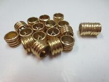 Heavy 14K S. Yellow Gold Clasp  +  Spacer Beads 6.7 mm/ Lot of 16 Pc /13.3 Gram