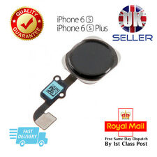 NEW iPhone 6S & 6S Plus  Home Button Flex Cable Replacement Black