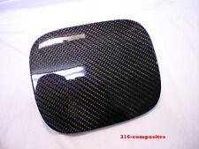 92-95 Honda Civic Hatchback EG Carbon Fiber Fuel Door Filler Gas Lid