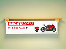 Ducati Corse PENIGALE R Workshop Garage Motorcycle Banner