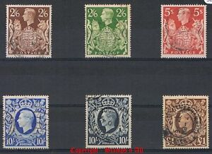 GB 1939 High Value Stamps Mint & Used. Discounts up to 30% for 4+ items.