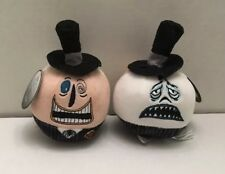 Nightmare Before Christmas The Mayor HALLMARK Fluffballs Ornaments Lot Of 2