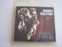 CD JOHNNY HALLYDAY QUELQUES CRIS  EDITION LIMITEE DIGIPACK NEUF SOUS BLISTER .