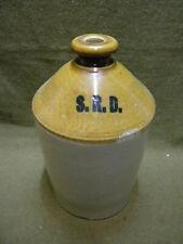 Cruche jar Anglaise SRD WWII WW2 british Rhum ration SAS para JEEP bivouac