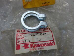 KAWASAKI NOS EXHAUST SILENCER CLAMP 92037-1150 KX80 -1979-82 & KDX80-1980-83