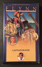 Captain Blood (VHS 1935) Errol Flynn, Olivia de Havilland, Lionel Atwill -PIRATE