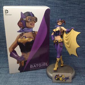 "DC Comics Bombshells Batgirl Statue 4598/5200 Limited Edition 10.5"" Mint in Box"