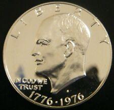 1976 S Eisenhower Ike Proof Dollar 40% Silver Bicentennial US Mint Coin