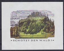 Österreich Block 7 **, Jahr des Waldes 1985, postfrisch, MNH