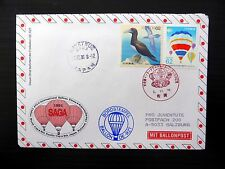 JAPAN 1991 Balloon Mail Flown to Austria NB229