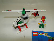 Lego 6515 Stunt Copter Octan  Auto komplett mit OBA