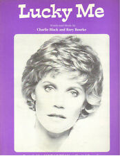 "ANNE MURRAY ""LUCKY ME"" PIANO/VOCAL/GUITAR CHORDS SHEET MUSIC RARE 1980!!"