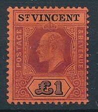 [54971] St-Vincent 1911 Very good MH Very Fine stamp $400