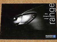 1997 PEUGEOT CARS Sales Brochure - 106 306 Cabrio 406 Coupe 806 GTI Rallye S-16
