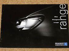 1997 peugeot voitures sales brochure - 106 306 cabrio 406 coupé 806 gti rallye S-16
