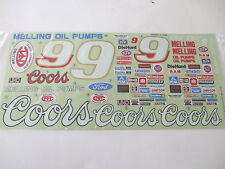 Marui Coors Melling Thunderbird - Original Decal Sticker Set - Excellent Cond.