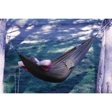 New Outdoor Portable Compact Travel Hammock Camping Tree Porch Beach Woods Yard