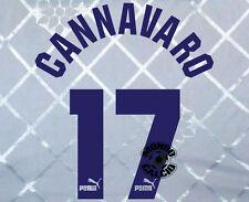 KIT CANNAVARO PARMA NAME SET HOME PERSONALIZZAZIONE NOME NUMERO PARMA 1995-96