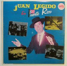 JUAN LEGIDO EN PUERTO RICO  / LP RECORD / EXCELLENT