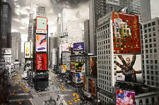 New York City Times Square From Above Huge Print Poster Art 55X39 (140X99cm)