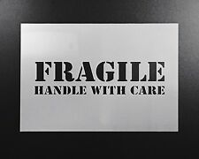 Fragile Sign Stencil Airbrush Wall Art Painting Home Decor DIY Crafts Reusable