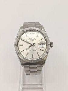 Rolex Watch 1501 Oysterperpetualdate operates normally 32mm Men's Silver 630660