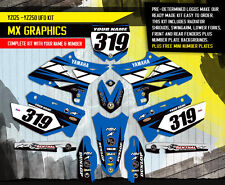 2002-2014 YAMAHA YZ 125-250 Restyle UFO Dirt Bike Motocross Graphics kit  Decals