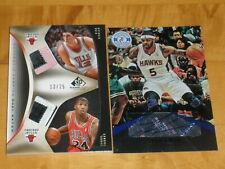 LOW SERIAL #'D LOT OF 2 Josh Smith Auto 06/15 Kirk Hinrich PATCH 13/25