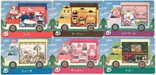 Animal Crossing Welcome amiibo New Leaf Sanrio Hello Kitty 6 cards set Limited