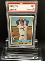 1976 Topps #600 Tom Seaver - HOF - Mets - PSA 9 - MINT - 23969491  - (SCA)