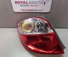 Toyota Matrix 2009 - 2013 Left Rear Tail Light Lamp Genuine OEM OE