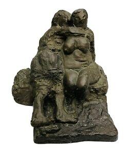 "Alfred Hrdlicka Bronzeplasik ""SAPPHO"""