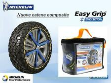 CATENE DA NEVE CALZE MICHELIN EASY GRIP EVO6 185 65-15 195 60 b06ecd7bb2f8