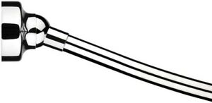 Croydex 60 in. Space Saver Shower Curtain Rod in Chrome AD169441YW