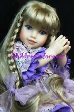 """Millie Keith 18"""" Doll Life of Faith Mission City Press Breezy Point Dressed RARE"""