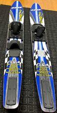 "New listing HO Easy Rider Blue/Black 59""  Slalom Pair (2) of Water Skis"