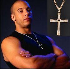 Rhinestone Pendant Chains & Necklaces for Men