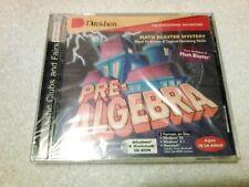 Pre-Algebra by Davidson, Educational Math Cd-Rom Game, 1996, Still Sealed!