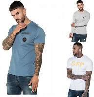 883 Police Mens Casual Cotton Slim Fit Crew Neck Designer T shirt Tee Top Sale