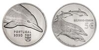 5 euro Portugal 2020 - Dolphin / Protected species