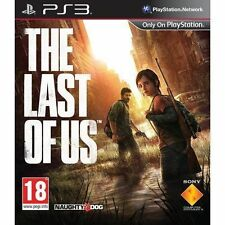 The Last of Us PS3 Playstation 3 Very Good - 1st Class Delivery