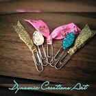 Dynamic Creations Art Cute 5pc Mini Paper Clip Set/ Planner Accessories