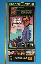 Grand Theft Auto Vice City Stories Video Game Store Display 2006 PS2 Promo Ad