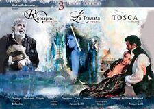Verdi: La traviata / Rigoletto / Tosca [New Blu-ray]