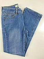 "Armani Exchange Medium Wash Straight Leg Mid Rise Jeans Size 29. 27x29x9"""
