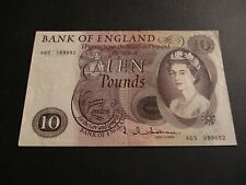 More details for b299 -  bank of england £10 pound note - j.q.hollom -  a03 399092
