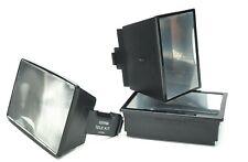 Sunpak Flash Three Tele Kits Attachments. All Useful.