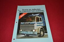 Scanias Truck Air Deflector Dealers Brochure DCPA4